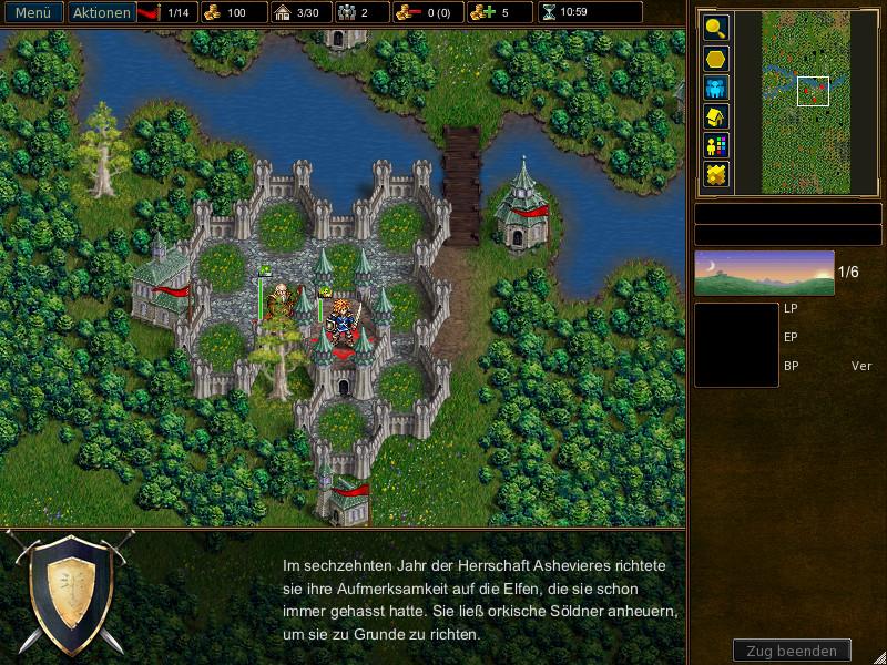 Screenshot 1 - The Battle for Wesnoth (Mac)