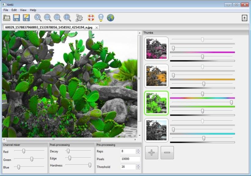 Screenshot 1 - Tintii Photo Filter