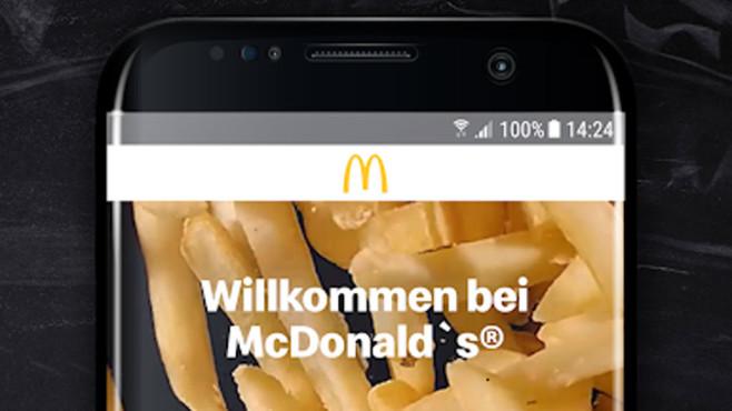 McDonald's App©McDonald's