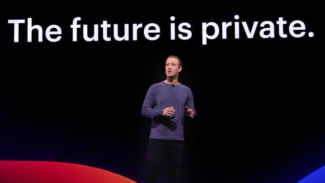 Mark Zuckerberg auf Facebooks F8©Facebook