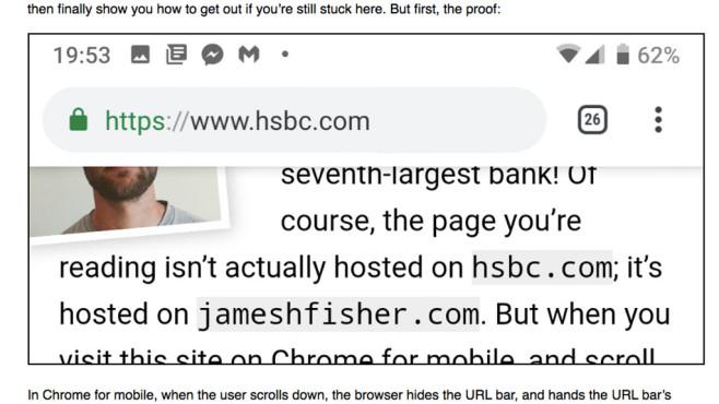 Google Chrome Hack©jameshfisher.com