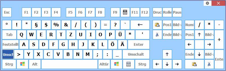 Screenshot 1 - Comfort Keys Pro