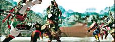 Genji – Days of the Blade: Yoshitsune stellt sich den Kämpfern des Heishi-Clans.