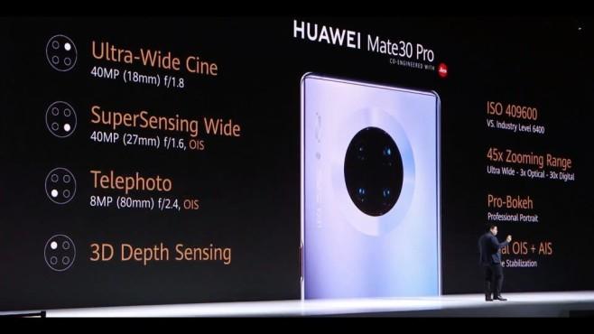 Huawei Mate 30 Pro©COMPUTER BILD/Huawei