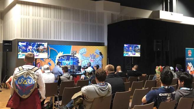 Pokémon Tekken DX auf den Pokémon-Internationalmeisterschaften in Berlin©COMPUTER BILD SPIELE