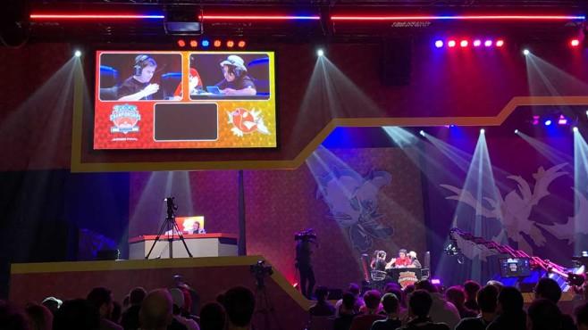 VGC Junior-Finale auf den Pokémon-Internationalmeisterschaften in Berlin©COMPUTER BILD SPIELE