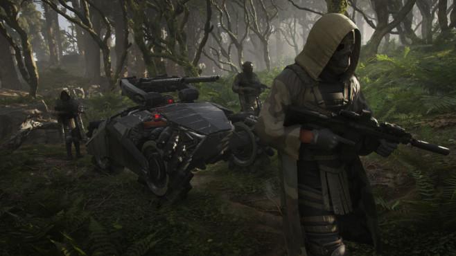 Ghost Recon – Breakpoint: Infos, Trailer & Vorschau Dieser Roboter der Wolves kann gehörig was einstecken!©Ubisoft