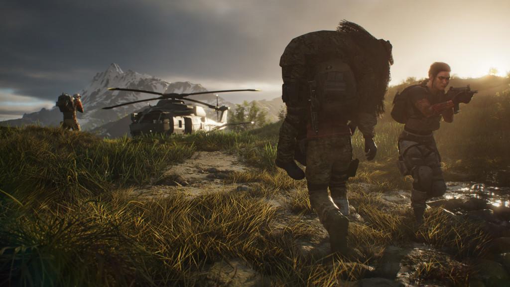 """Ghost Recon – Breakpoint: Infos, Trailer & Vorschau Verwundete Kollegen tragen Sie in """"Ghost Recon – Breakpoint"""" aus der Gefahrenzone.©Ubisoft"""