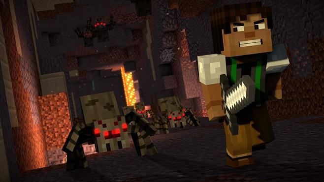 Minecraft Story Mode©Mojang / Microsoft