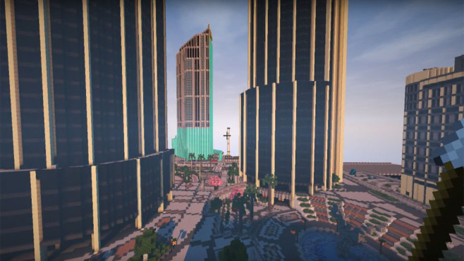 Minecraft: GTA 5 © Mojang / Microsoft / YouTube.com / N11cK