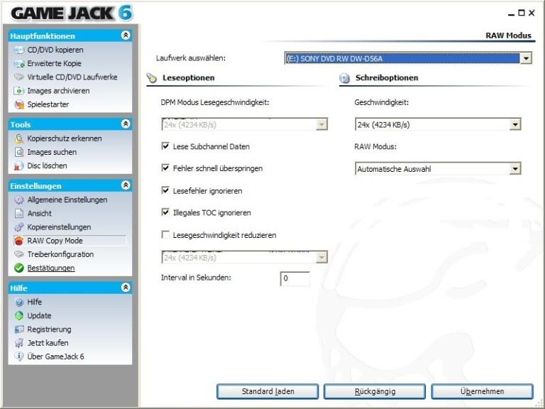 Screenshot 1 - GameJack