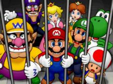 Mario Party DS Mario und seine Freunde hinter Gittern: Natürlich steckt Bowser dahinter.