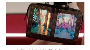 Handtasche mit Display©Louisvuitton.com