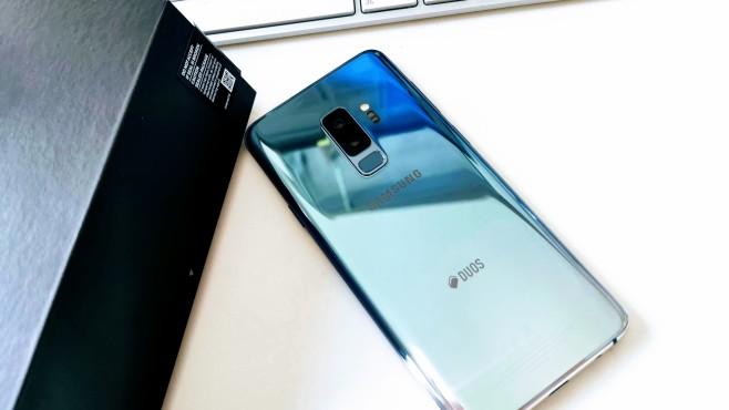 Samsung Galaxy S9 Plus ©COMPUTER BILD/Michael Huch