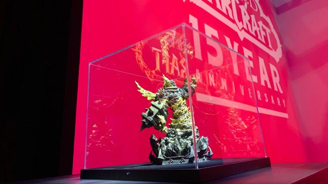 World of Warcraft: Collector's Edition kommt! WoW – Collector's Edition: Hochwertige Verabeitung und schöne Pose der Statue sorgen für einen echten Hingucker!©Blizzard
