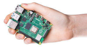 Raspberry-Pi © Raspberry Pi Foundation