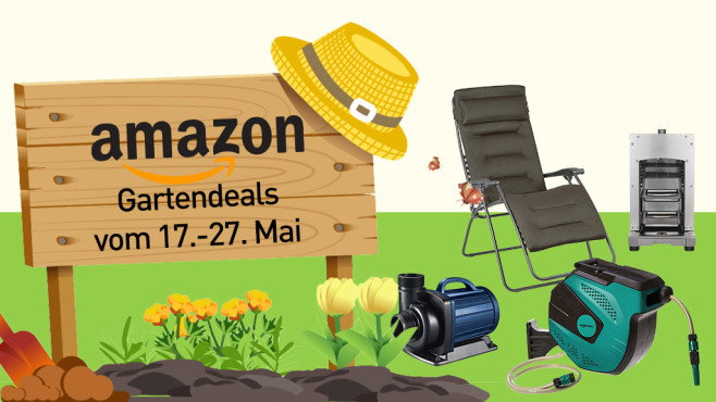 Amazon-Gartendeals©Amazon, iStock.com/jattumongkhon