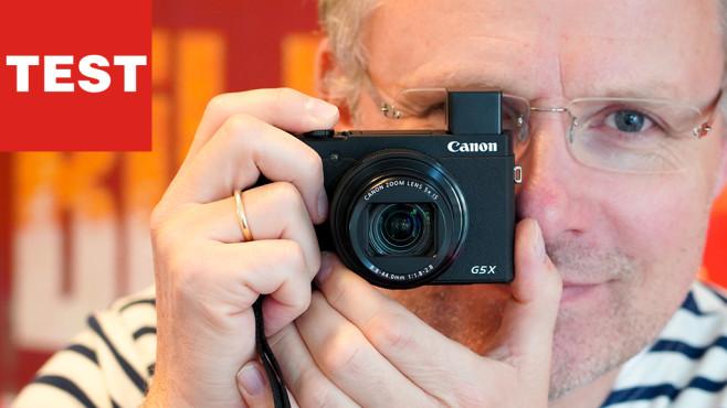 Canon Powershot G5 X Mark II ©COMPUTER BILD