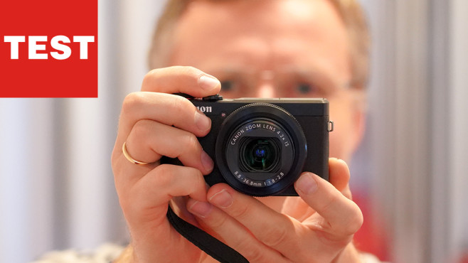 Canon Powershot G7 X Mark III ©COMPUTER BILD