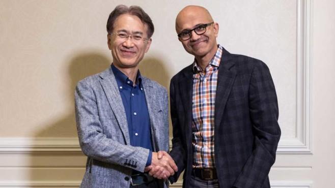 Microsoft und Sony©Microsoft
