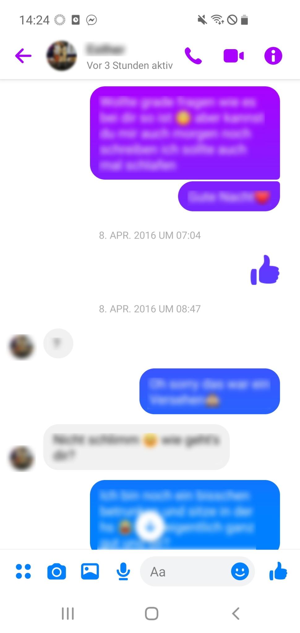 Screenshot 1 - Facebook Messenger (APK)