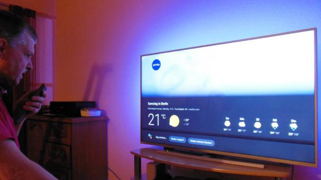 Android-Pie-TV testen & behalten©Dirk Glaser