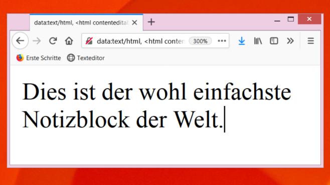 So legen Sie mit Firefox-Bordmitteln Notizen an©COMPUTER BILD