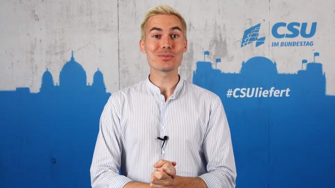 #CSYou - die Antwort auf Rezo©YouTube / CSU im Bundestag