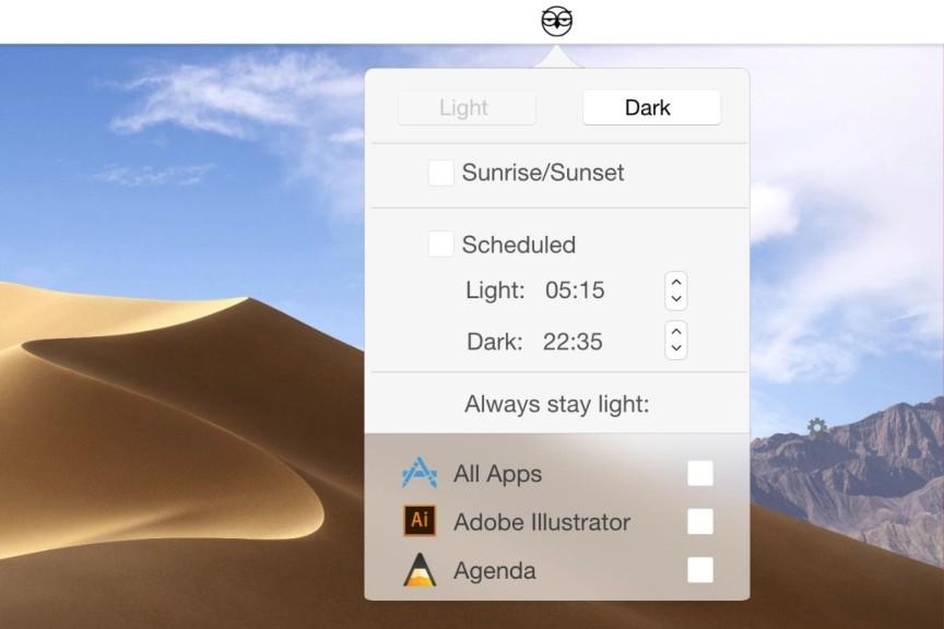Screenshot 1 - NightOwl (Mac)
