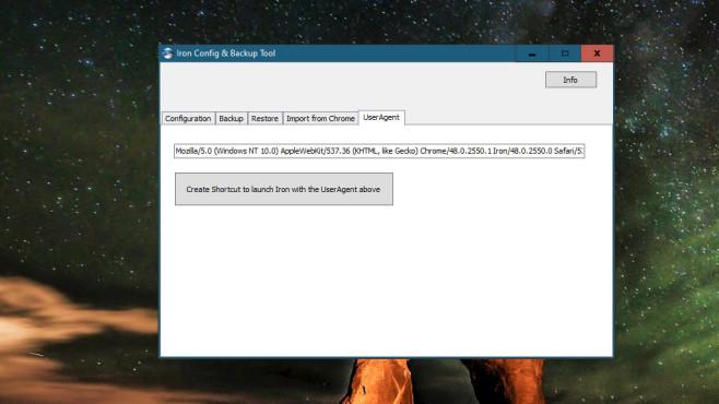 User Agent ändern und auslesen: Anonym surfen mit Firefox, Chrome & Co. Der Browser SRWare Iron hebt sich durch ein User-Agent-Konfigurationstool ab.©COMPUTER BILD