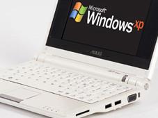Der Asus EeePC kann problemlos mit Windows XP betrieben werden.
