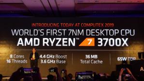 AMD Ryzen 7 3700X und 3800X©AMD