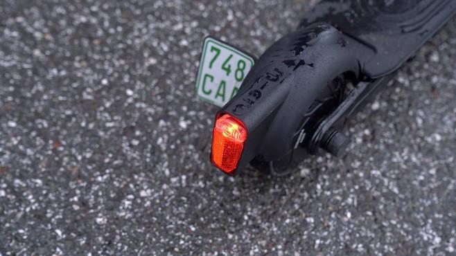 Micro for BMW: Beleuchtung und Kennzeichenhalter©COMPUTER BILD