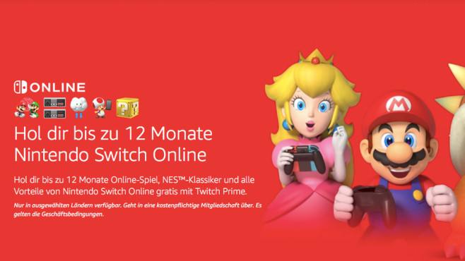 Switch Online: Kostenlos©Twitch / Amazon