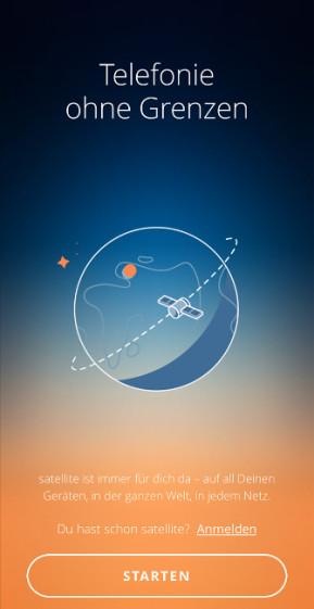 Satellite: Weltweit mobil telefonieren (Android-App)