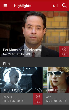 Save.TV TV-Recorder (Android-App)