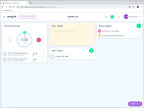 Awork.io: Projekte planen