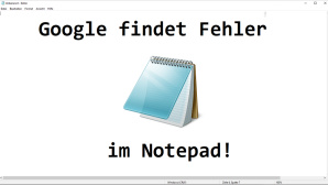 Notepad Sicherheitslücke©Microsoft / Wikipedia