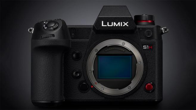 Panasonic Lumix S1H Vollformat-Systemkamera©Panasonic