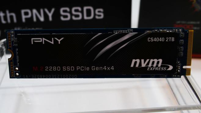 PNY M.2 2280 SSD PCIe Gen4 x4©COMPUTER BILD