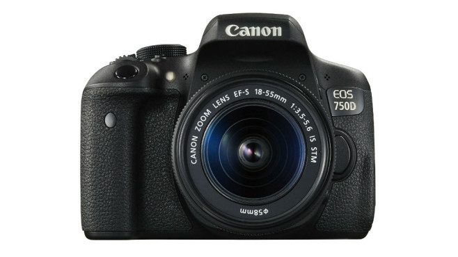 Canon EOS 750D (Altes Testverfahren bis 2015) ©Canon