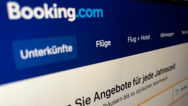 Internetseite Booking.com©Screenshot Booking.com