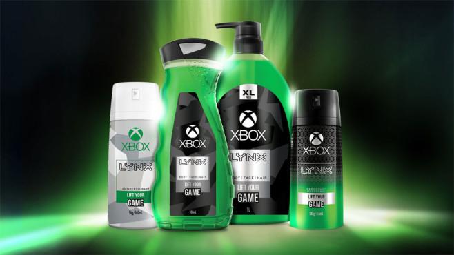 Xbox Duschgel©Microsoft / Lynx / Twitter.com