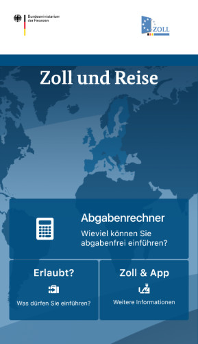 Zoll und Reise (Android-App)