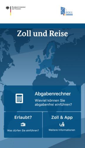 Zoll und Reise (App für iPhone & iPad)
