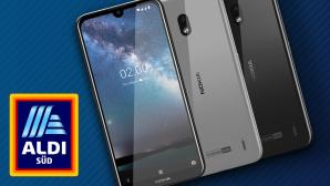 Nokia 2.2 bei Aldi©HMD Global, Aldi Süd, iStock.com/Max2611