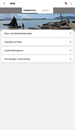 Sicher Reisen (App für iPhone & iPad)