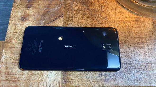 Die Rückseite des Nokia 3.2©COMPUTER BILD