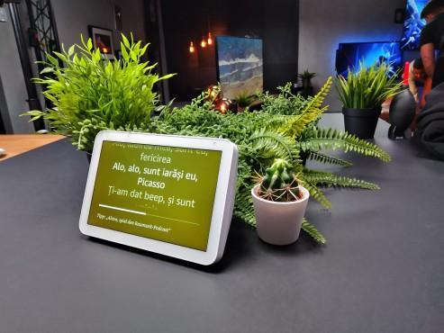 Ein Testfoto zeigt Pflanzen und ein Tablet©COMPUTER BILD