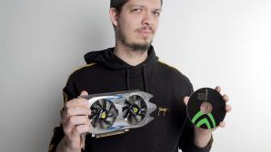 Fake: Nvidia GeForce 1060 Ti bei Wish gekauft©COMPUTER BILD
